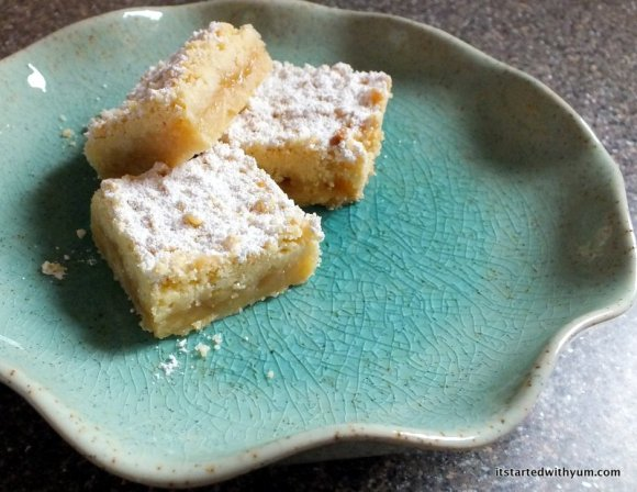 Austrian Shortbread Lemon Bars