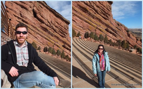 Alex and Jessalyn, live at Red Rocks! Too bad we didn't see a show while we were there.