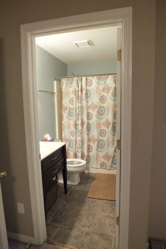Our humble master bathroom