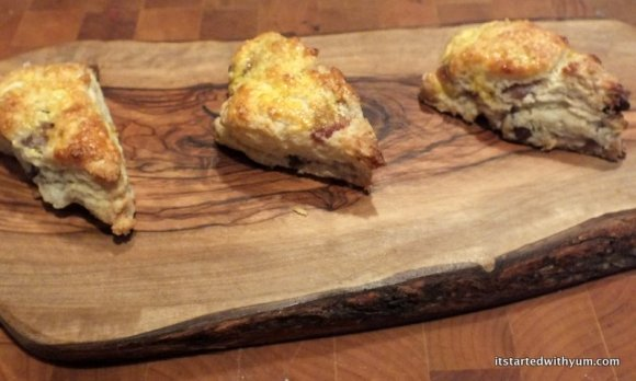 Sophisticated scones